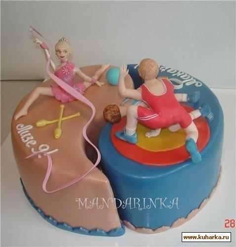 Торт для брата и сестры   красивые фото022