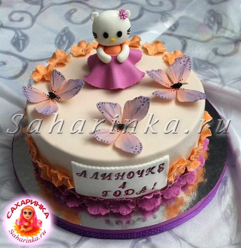 Торт для девочки 8 лет из мастики   фото 003