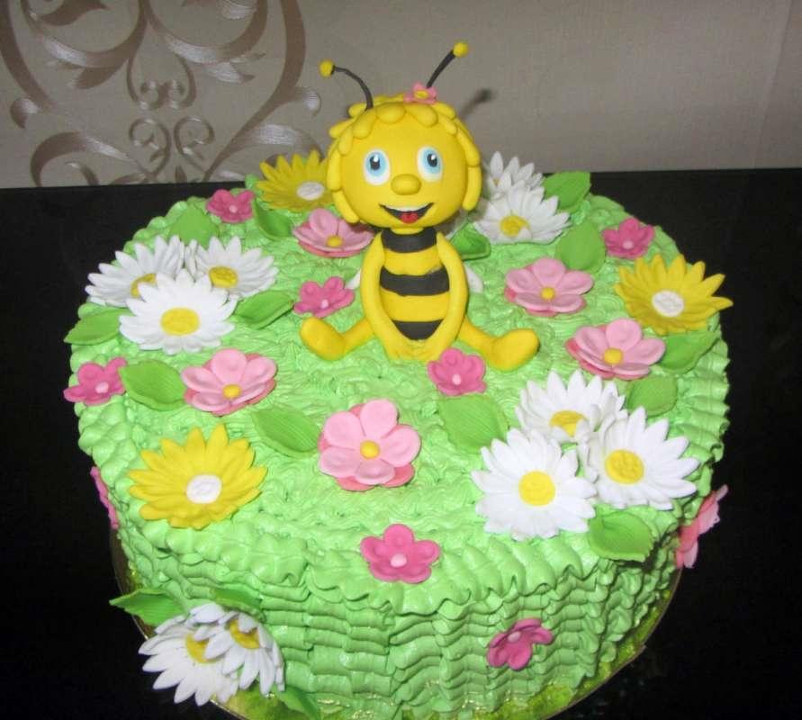 Торт для девочки 8 лет из мастики   фото 005