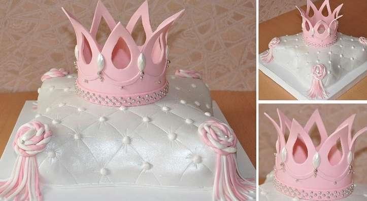 Торт для девочки 8 лет из мастики   фото 008
