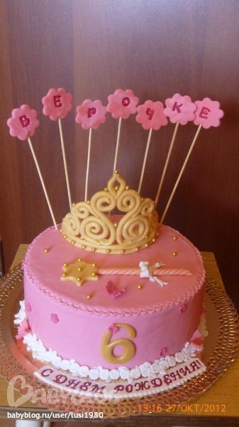 Торт для девочки 8 лет из мастики   фото 010