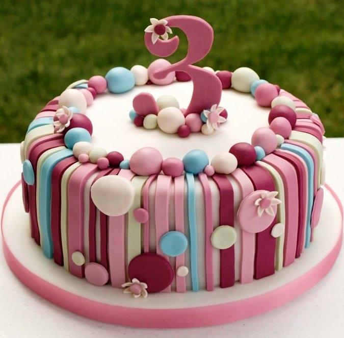 Торт для девочки 8 лет из мастики   фото 012