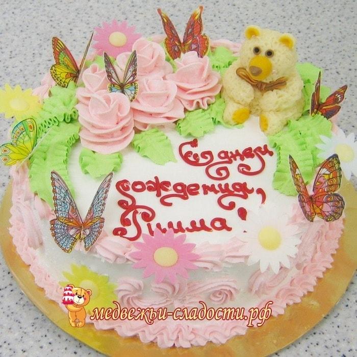 Торт для девочки 8 лет из мастики   фото 013