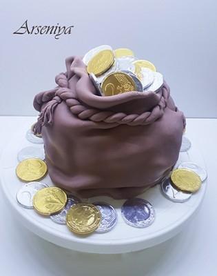 Торт для девочки 8 лет из мастики   фото 015