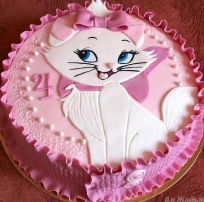 Торт для девочки 8 лет из мастики   фото 022
