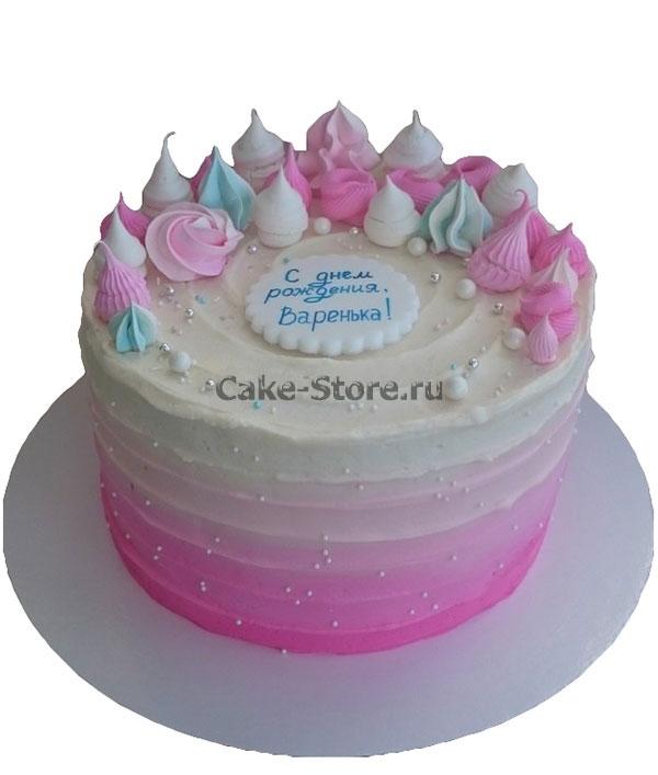Торт для девочки 8 лет из мастики   фото 024