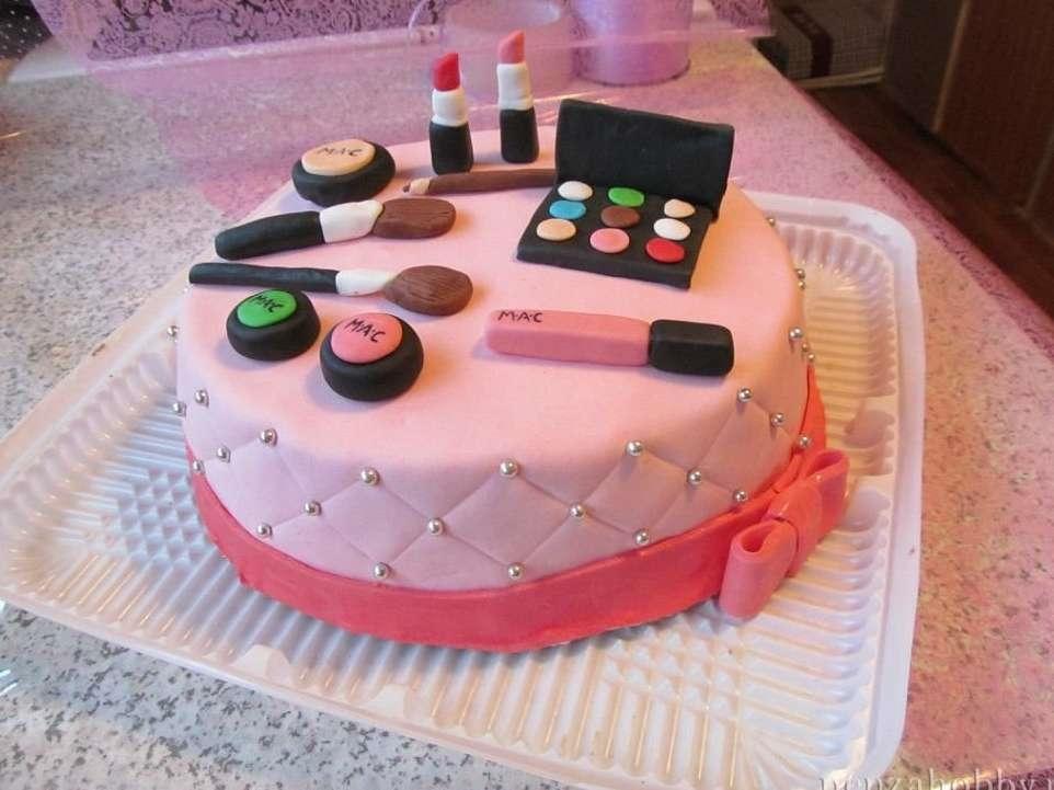 Торт для девочки 8 лет из мастики   фото 026