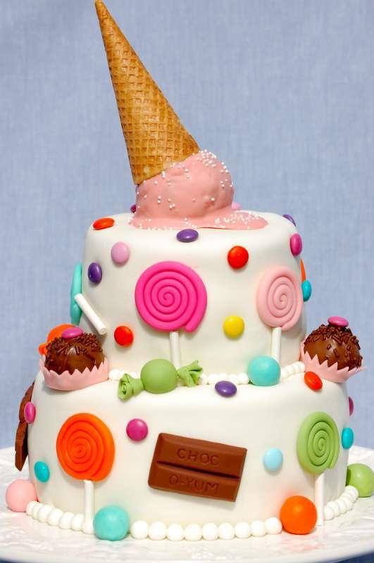 Торт для девочки 8 лет из мастики   фото 027