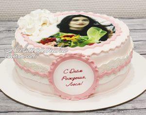 Торт для любимой девушки на День Рождения   фото (23)