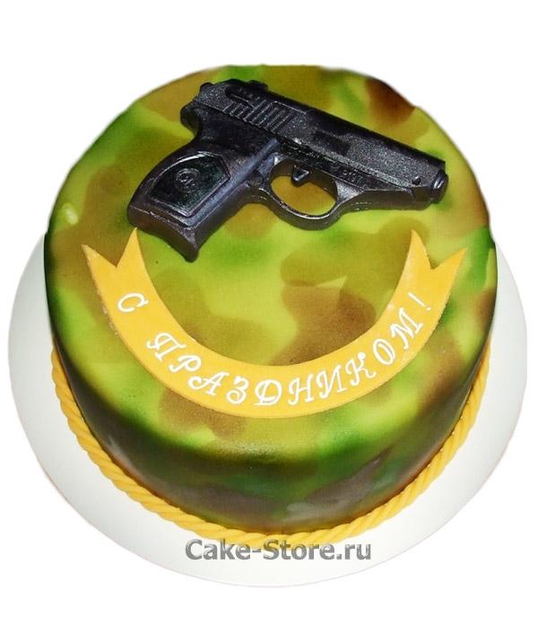 Торт для охранника фото 006