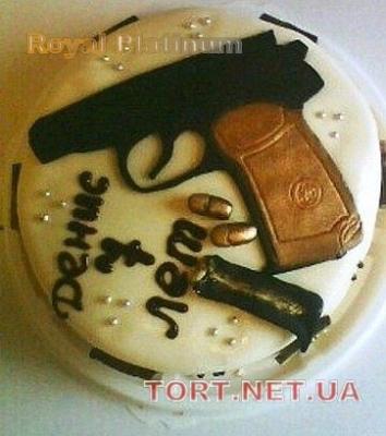 Торт для охранника фото 011