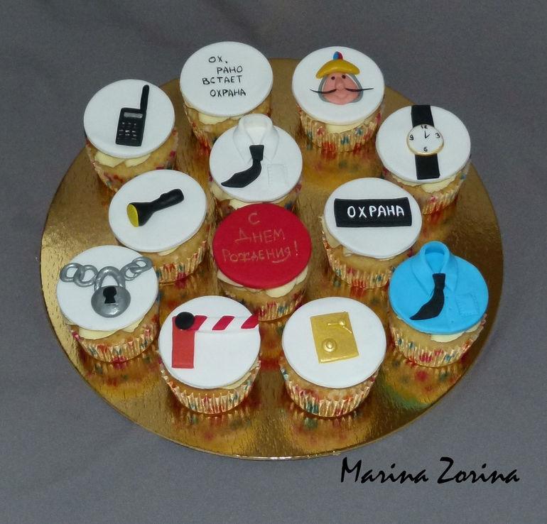Торт для охранника фото 012