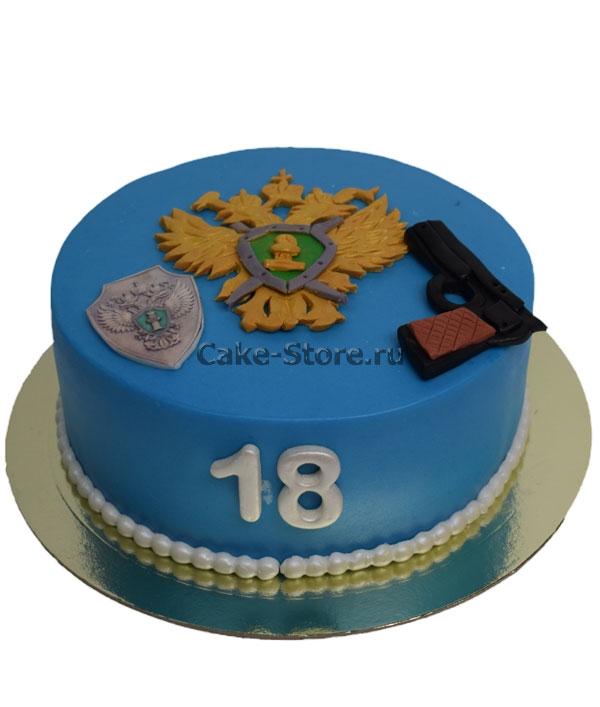 Торт для охранника фото 017