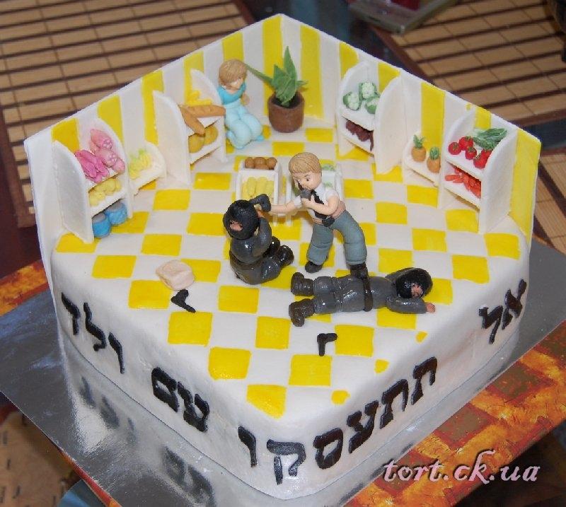 Торт для охранника фото 019