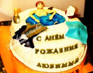 Торт из крема мужу   фото 029