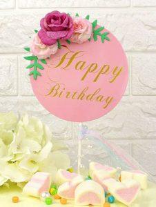 Торт и цветы картинки с Днем Рождения   подборка (32)