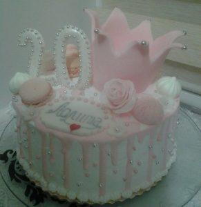 Торт на день рождения девушке 20 лет   фото027