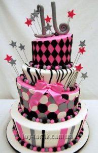Торт на шестнадцатилетие девочке фото и картинки 024