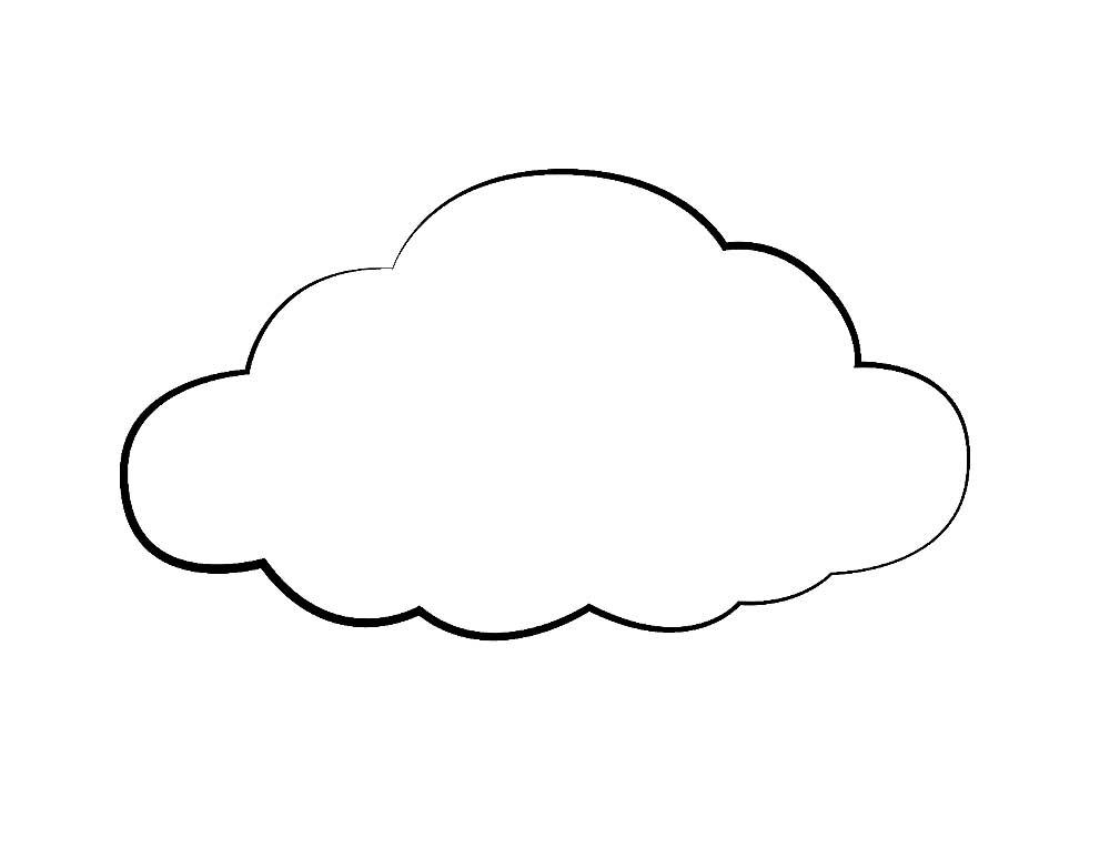 картинки облако для раскрашивания аву обои картинки