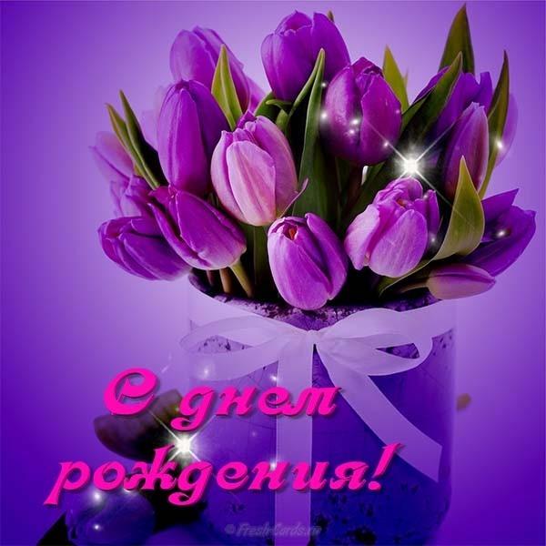 Тюльпаны фото с днем рождения   подборка 011