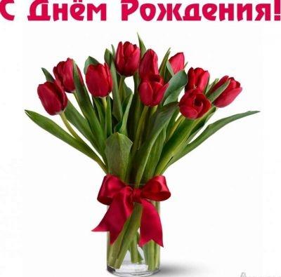 Тюльпаны фото с днем рождения   подборка 019