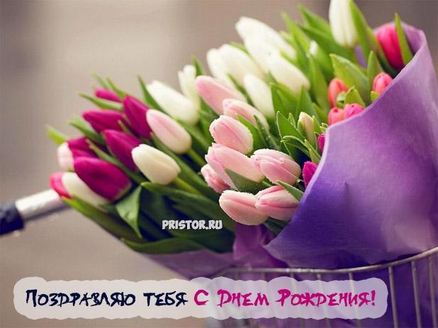 Тюльпаны фото с днем рождения   подборка 022