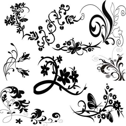 Узоры рисовать легкие и красивые 001