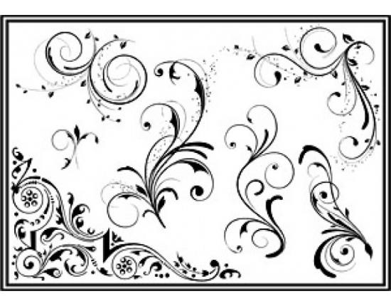Узоры рисовать легкие и красивые 017