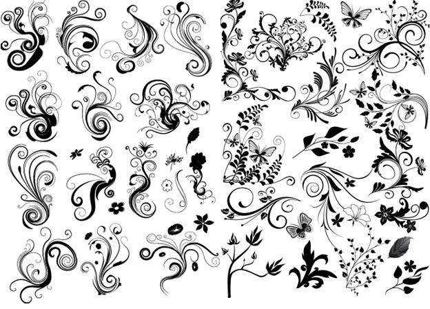 Узоры рисовать легкие и красивые 021
