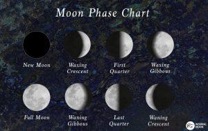Фазы луны как нарисовать   подборка картинок 028