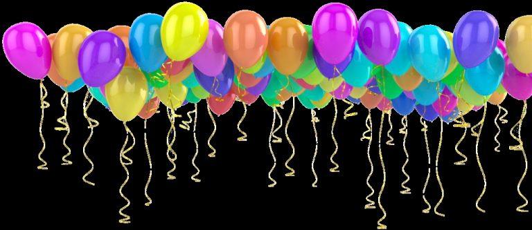анимационные открытки с днем рождения летящие шары участва