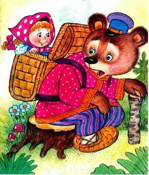 Фото Маша и Медведь сказка 001