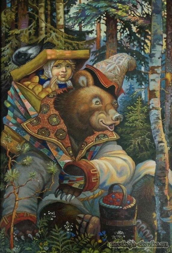 Фото Маша и Медведь сказка 017