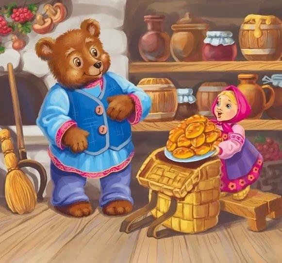 Фото Маша и Медведь сказка 022