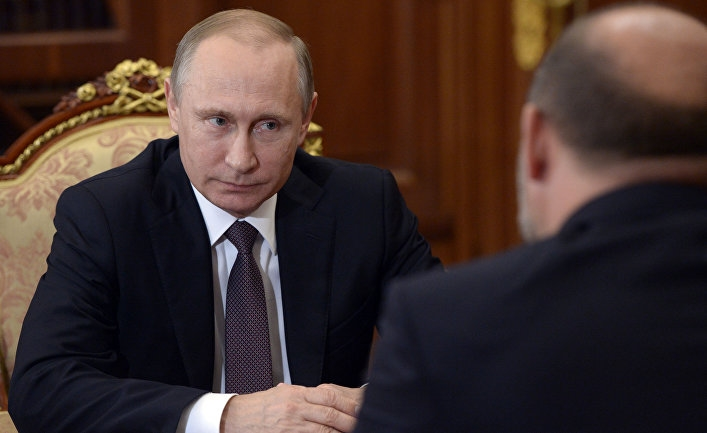 Фото Путин за столом   подборка 008