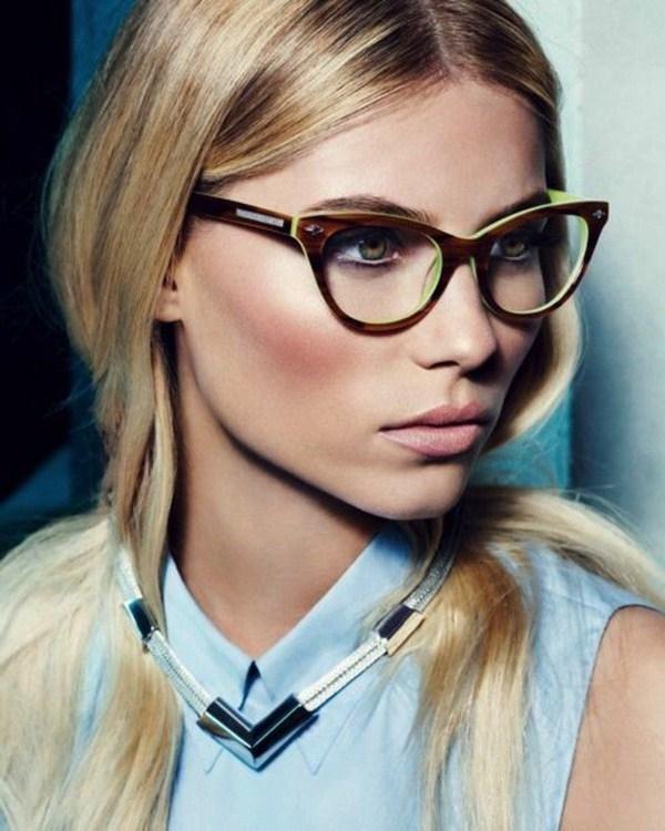 Фото блондинок девушек в очках подборка 008