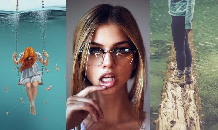 Фото блондинок девушек в очках подборка 014