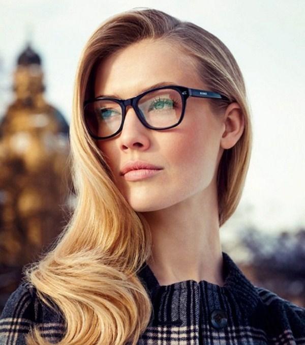 Фото блондинок девушек в очках подборка 018