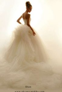 Фото девушек без лица в свадебном платье   подборка (22)