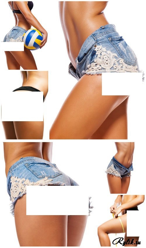 Фото девушек в джинсовых шортах и майках   подборка (15)