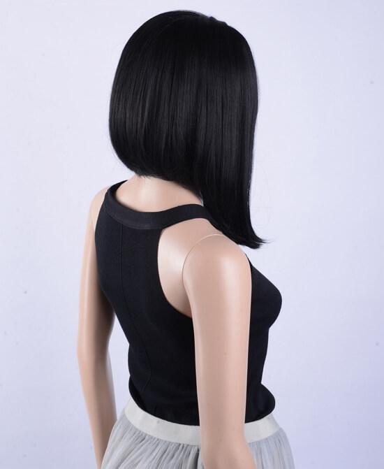 Девушки брюнетки с каре со спины