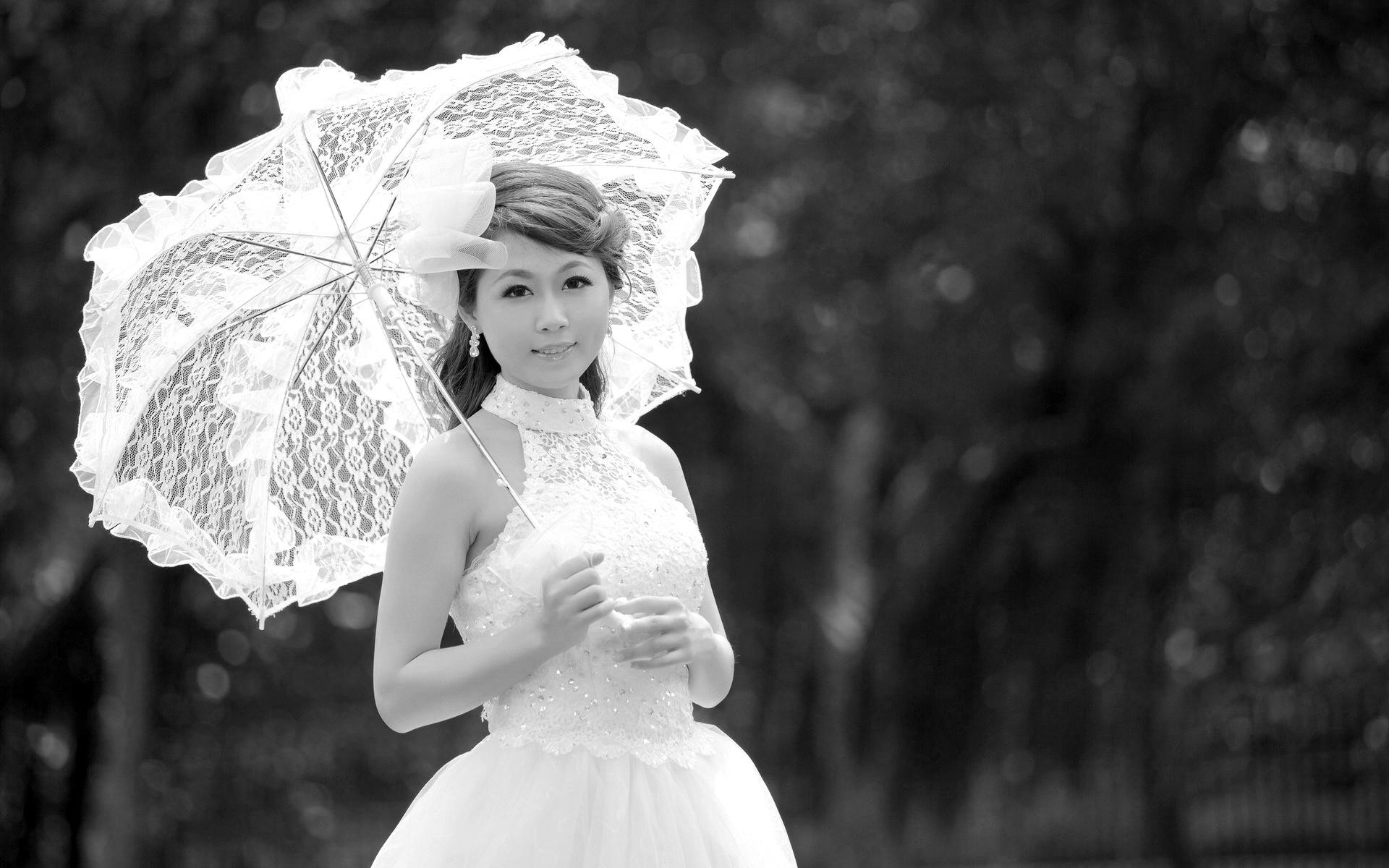 Фото девушка в платье черно белое   картинки (12)