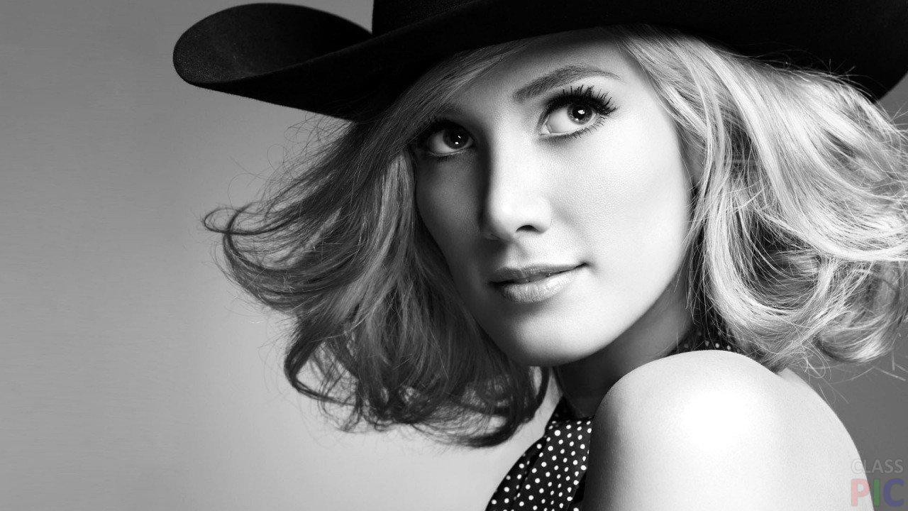 Фото девушка в платье черно белое   картинки (5)
