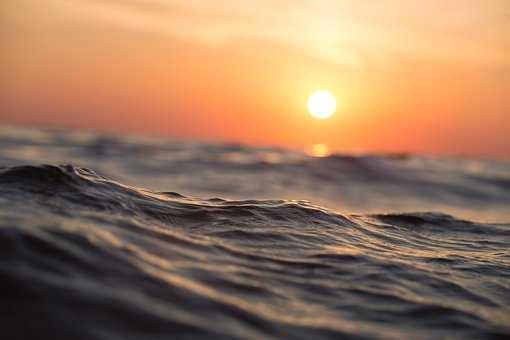 Фото девушка и закат солнца   подборка 008