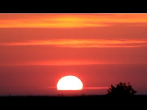Фото девушка и закат солнца   подборка 009