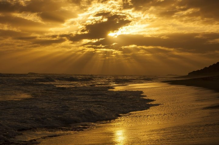 Фото девушка и закат солнца   подборка 018