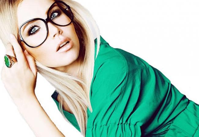 Фото девушки в очках блондинки   милые картинки 006