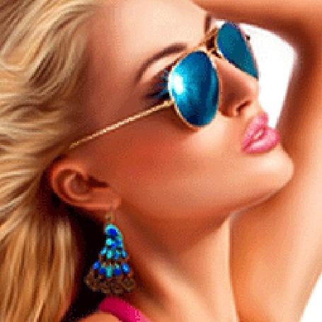 Фото девушки в очках блондинки   милые картинки 011