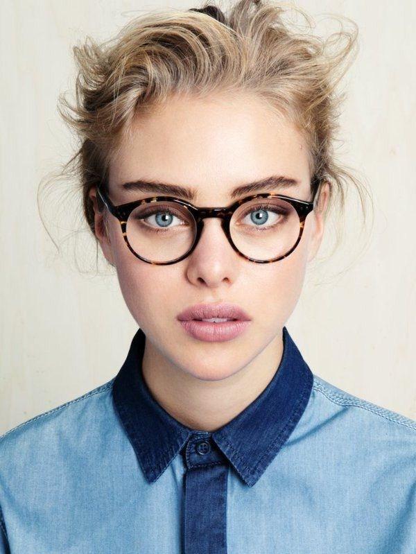 Фото девушки в очках блондинки   милые картинки 015