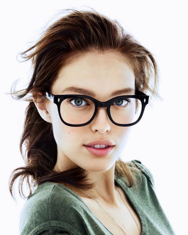 Фото девушки в очках блондинки   милые картинки 019